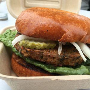 Veggie burger alla Capello's Barbeque