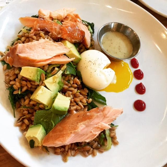 Salmon Faro Salad