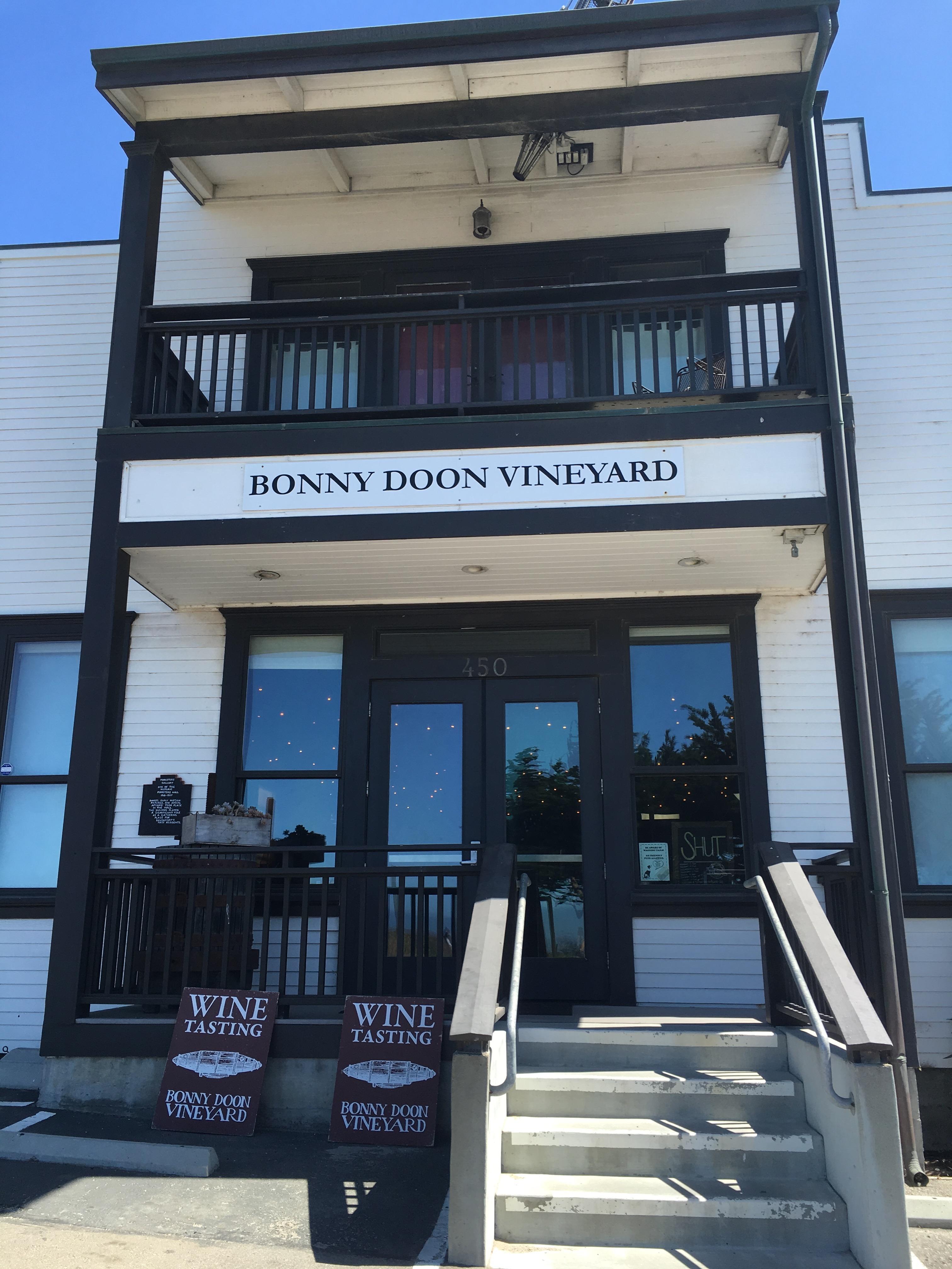 Bonny Doon Front Door