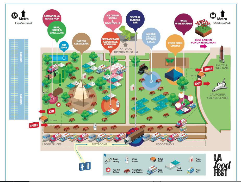 la food fest map