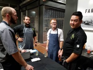 foodie, farm shed dinner, pacha chefs, tres dallas, dallas farmers market