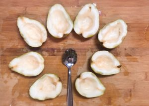 pears-being-scooped