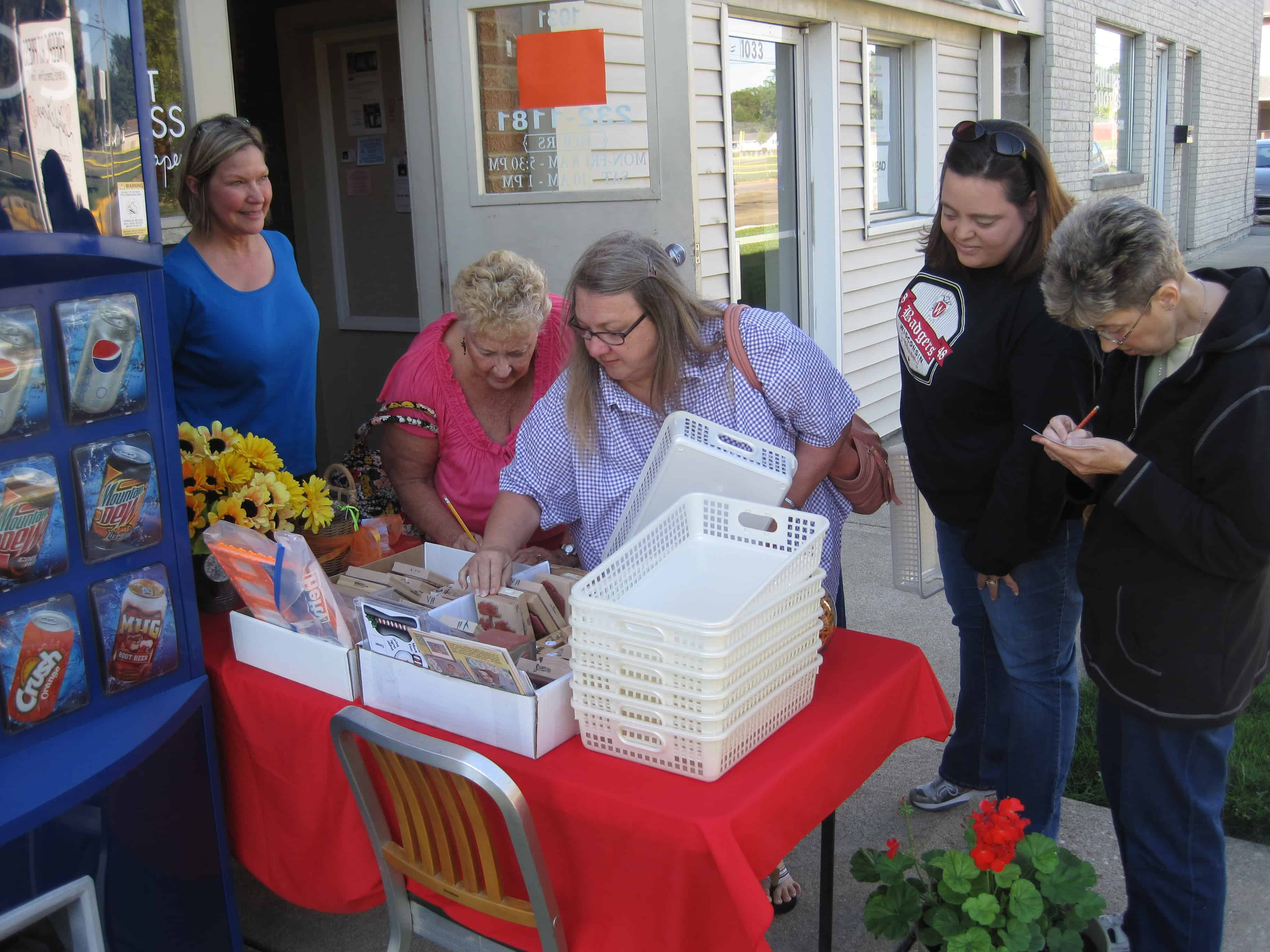 Aug. 5, Sat. – 12th Annual Open House & Used Stamp Sale