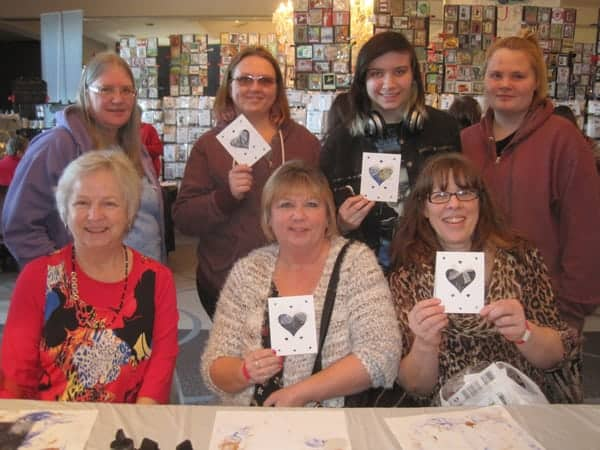 Stamp Scrap Art Tour stamping show, Mar. 7 & 8, Cliffbreakers, Rockford, IL