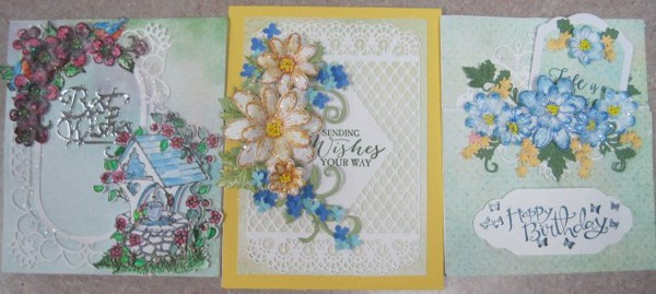 July 13, Sat. Heartfelt card class with Lynda 9:30 a.m.