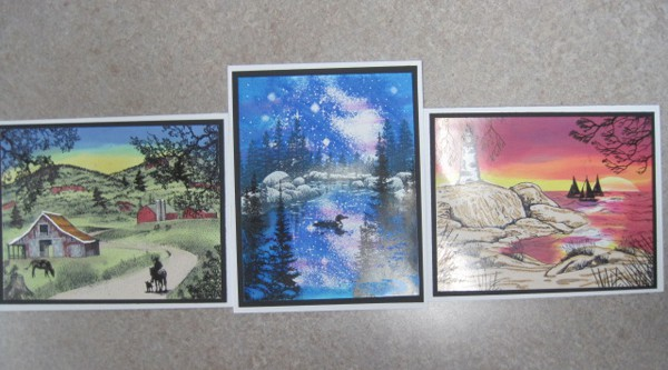 August 22, Thurs. Stampscapes cards with Char 9:30 – 11:30 am