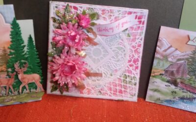 Mar 21 followup to be delayed- 14, Sat. Heartfelt New! Aster/Wilderness cards