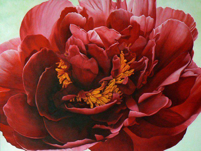 Madeleine Wood Painting