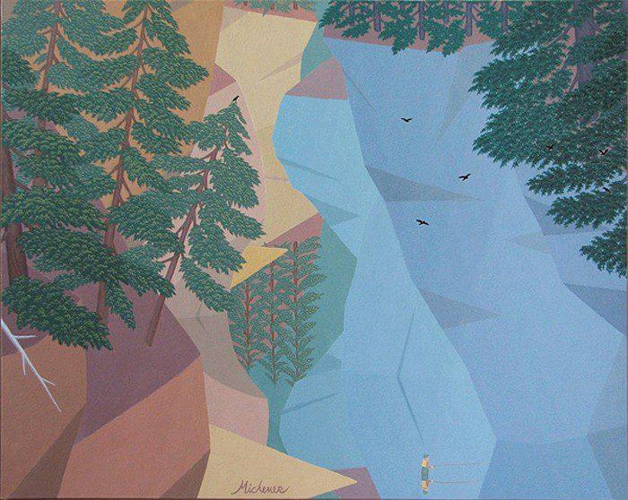 Robert Michener Painting