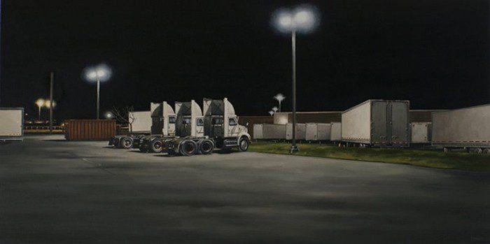 Peter Harris Painting