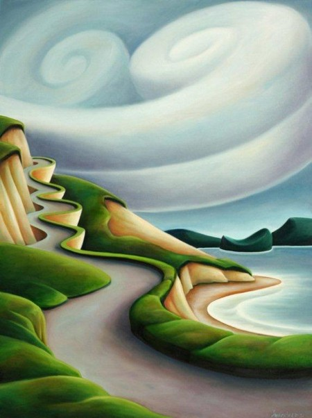 Dana Irving Above the Weather(Sea to Sky) Painting
