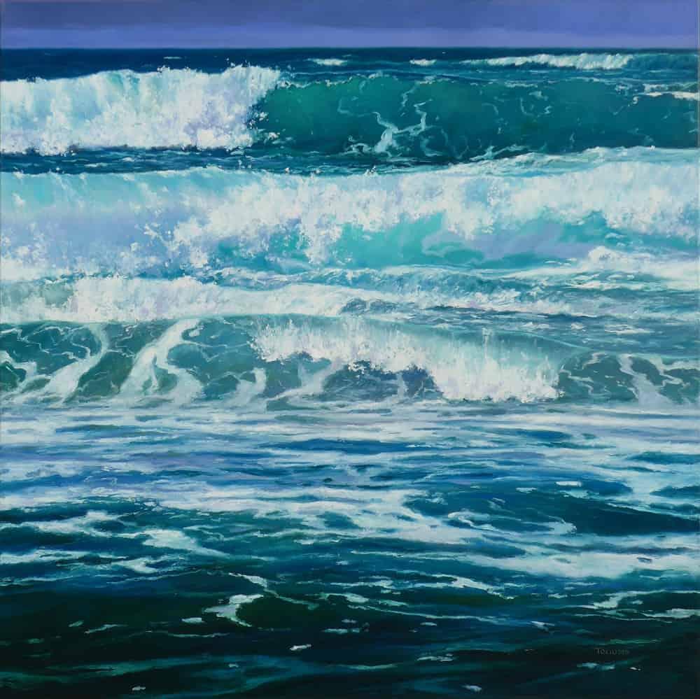 Erika Toliusis Oceano 36x36