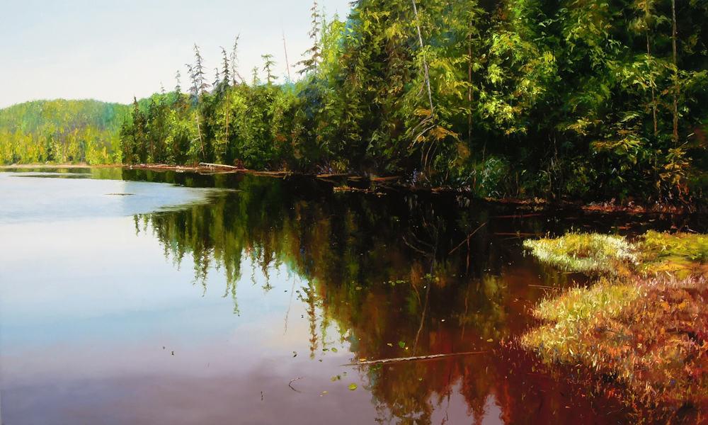 Erika Toliusis BC Lakes 11 36x60