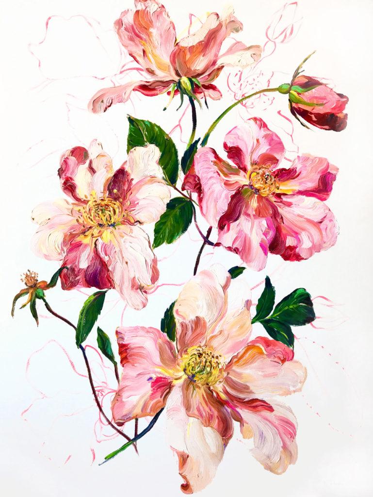 Krista Johnson The Rose Thief 35X27