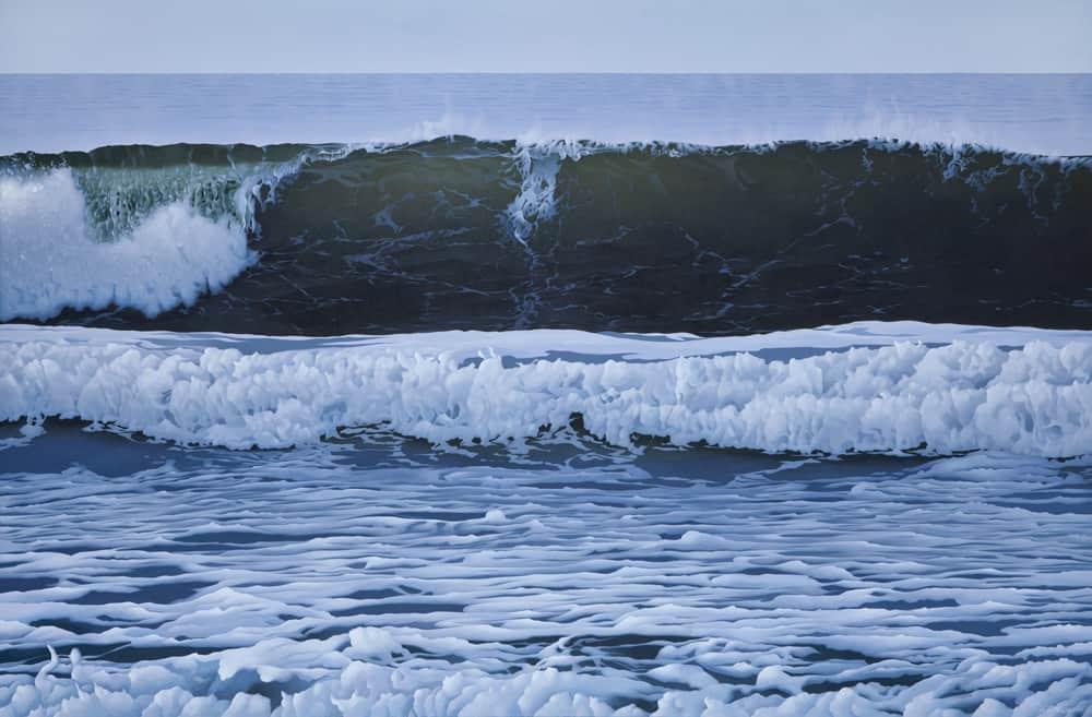 Carol Haigh Break at Long Beach 48x72