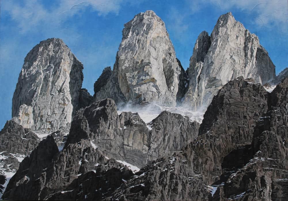 Gary Aylward pillars of the rockies - Mt Wilson