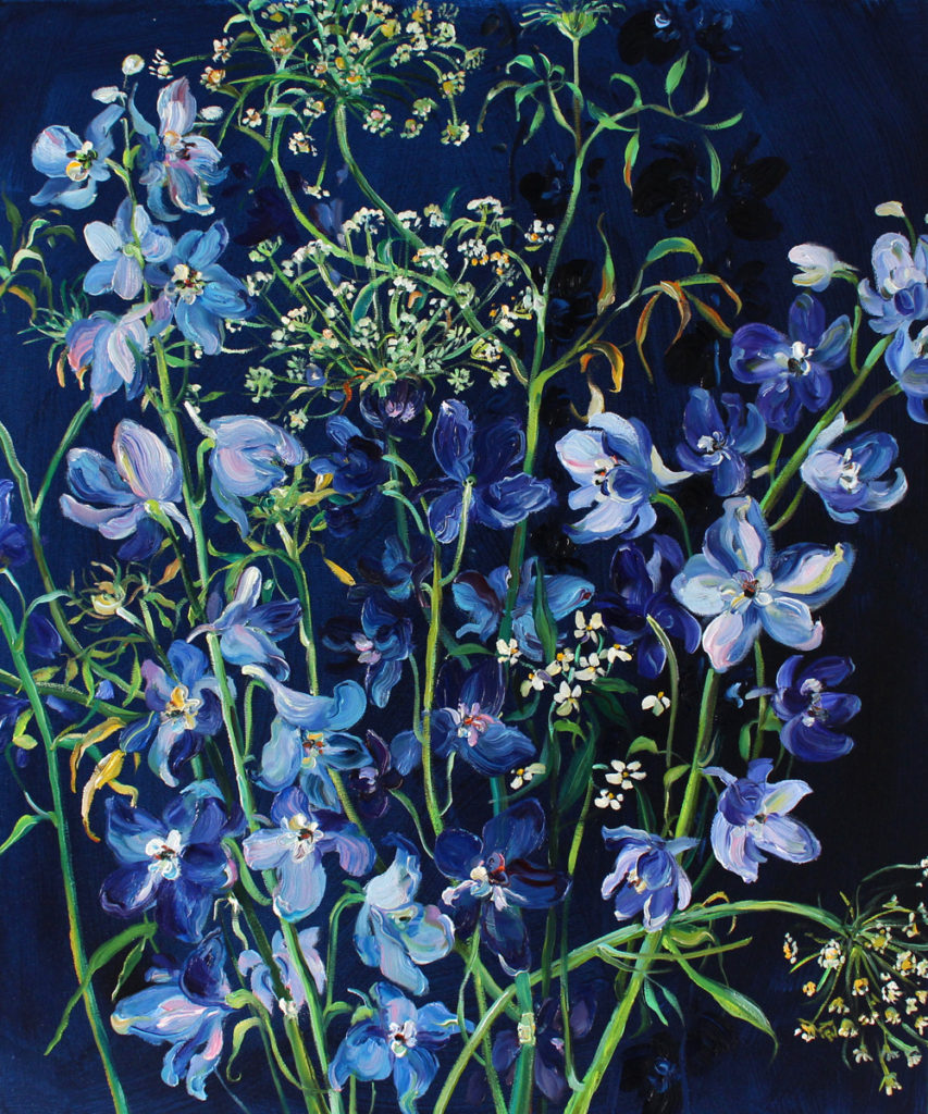 Krista Johnson Immersed In Blue 24x20