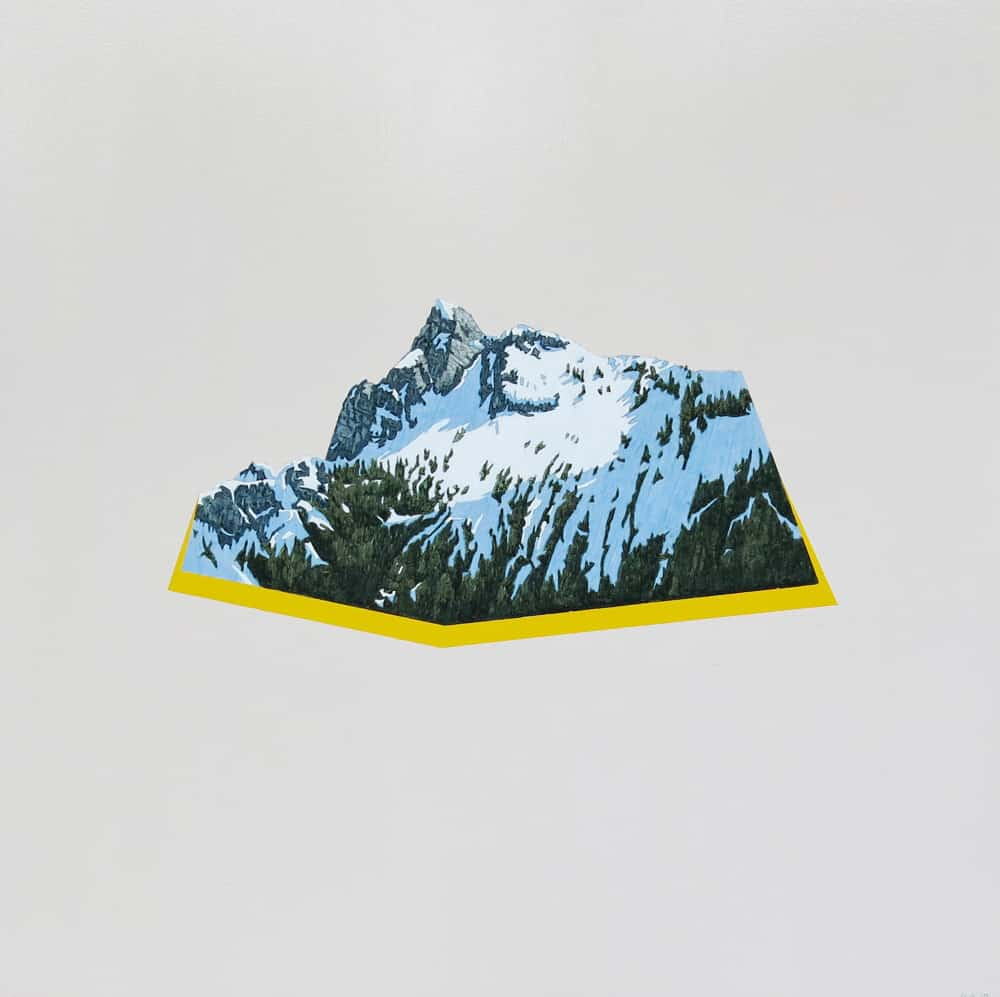 David Pirrie Still Life With North Shore Mtn East Lion