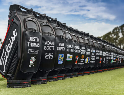 TITLEIST GOES BACK TO BLACK