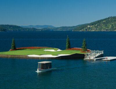 Golfporn: Couer D'Alene Golf Resort, Idaho