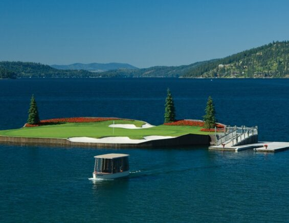 Golfporn: Couer D'Alene Golf Resort, Idaho