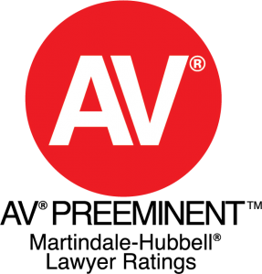 AV-Preeminent Rating by Martindale-Hubbell