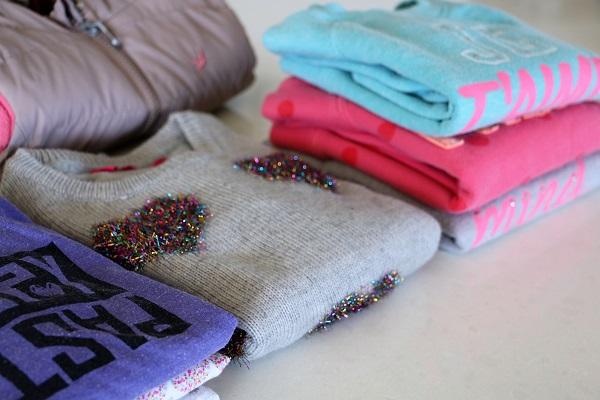 טיפים למיון בגדי ילדים