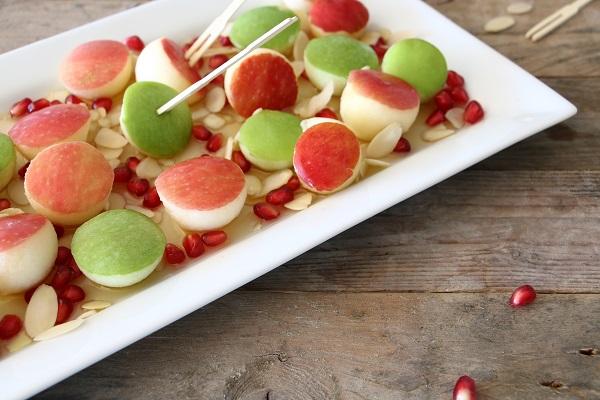 עיגולי תפוח בדבש אשת סטייל