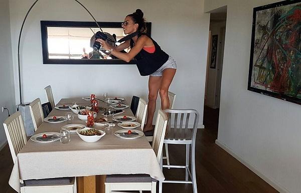 צילום לפני שאוכלים אשת סטייל