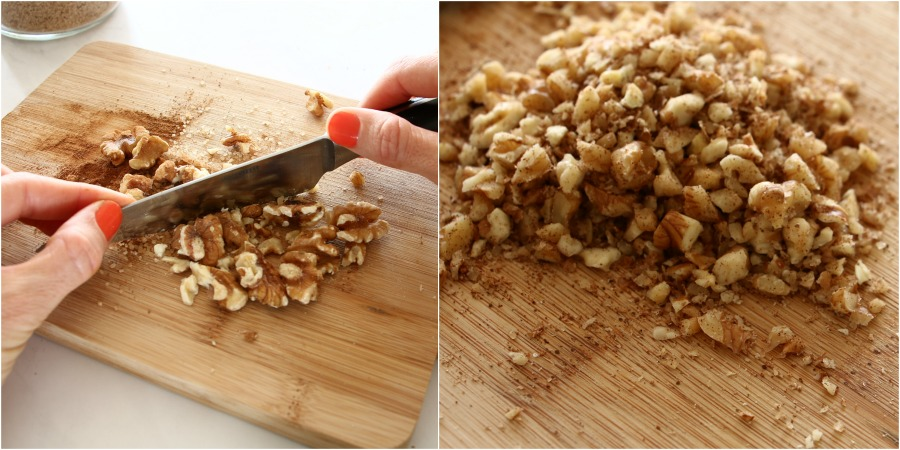 קראנצ' אגוזים תוספת לעוגב בחושה אירוח בסטייל