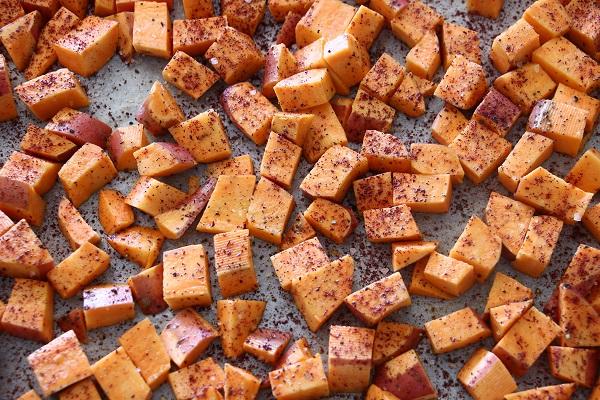 קוביות בטטה בתנור מתכון