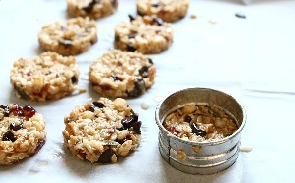 עוגיות גרנולה מעולות מתכון קל