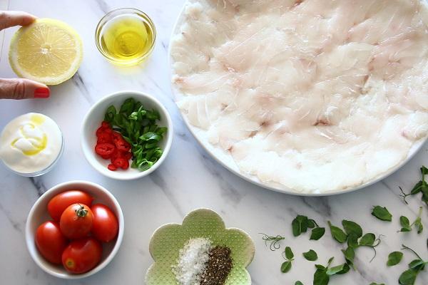 איך להכין קרפצ'יו דג כמו במסעדה - אירוח בסטייל - EshetStyle (צילום: טליה הדר)