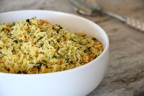 אורז עם ירקות אשת סטייל