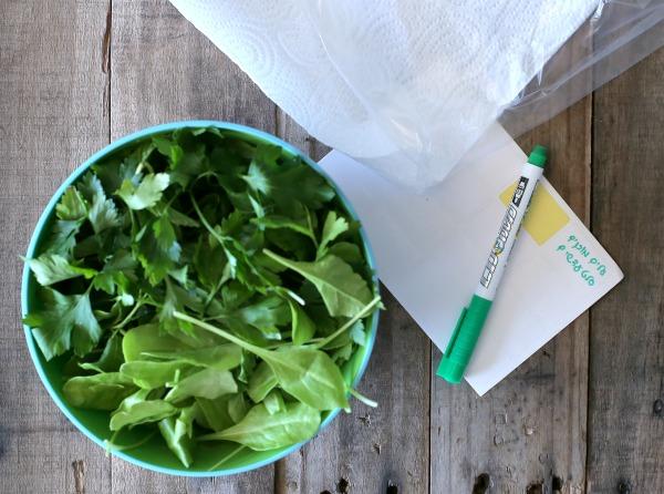 טיפ פרקטי לשמירת עלים ירוקים באירוח_איך לשמור פטרוזיליה_הכנות לאירוח_אשת סטייל (צילום: טליה הדר)