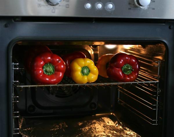 פלפלים קלויים בתנור מתכון_ סלט_אירוח על האש_הבלוג של טליה הדר_אשת סטייל .com/comEshetStyle