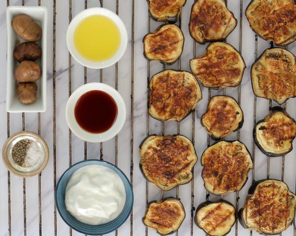 איך להכין קרם חצילים משאריות חציל קלוי_אשת סטייל (צילום: טליה הדר)