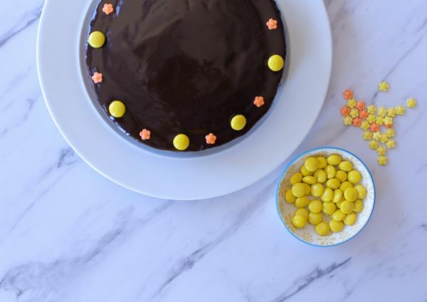 עוגת שוקולד בלי מיקסר_עוגת יום הולדת (צילום: טליה הדר)