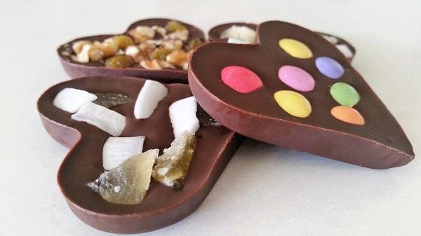 לבבות שוקולד שכל אחד יכול_יום האהבה_צילום ומתכון: טליה הדר מהבלוג אשת סטייל
