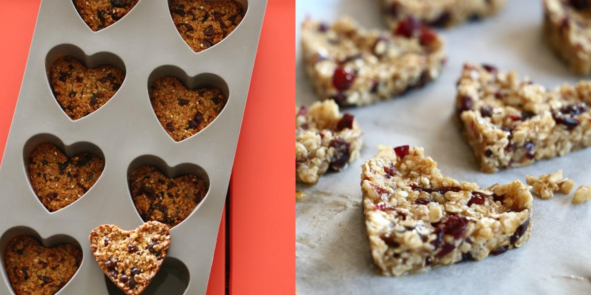 עוגיות גרנולה לבבות_טיפ בסטייל_צילום ומתכון: טליה הדר_אשת סטייל