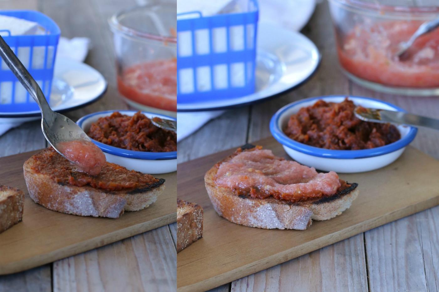 ברוסקטה יוונית_ברוסקטה עם גבינה בולגרית_אירוח בסטייל_פיראוס_טליה הדר מהבלוג אשת סטייל