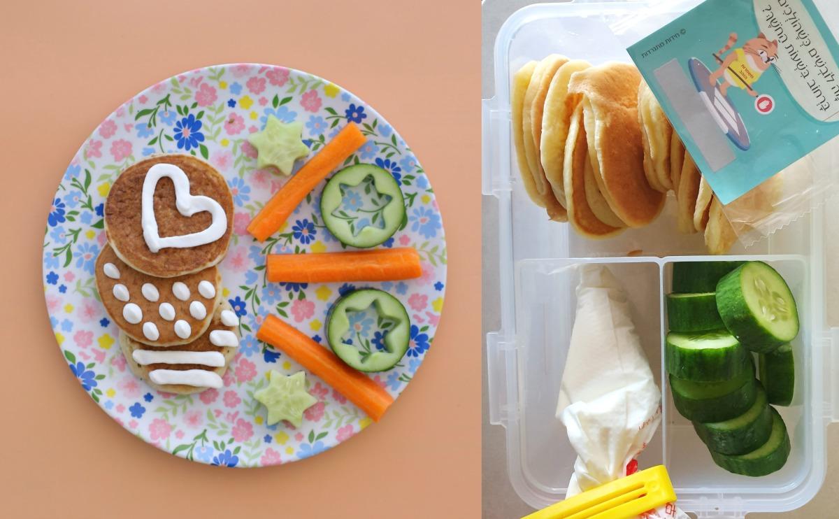 פנקייקס מלוחים שילדים אוהבים_רעיונות לארוחת עשר_צילום ומתכון טליה הדר מהבלוג אשת סטייל