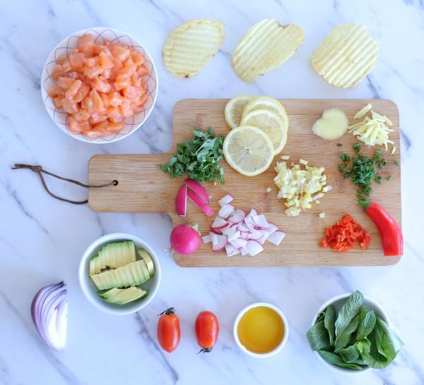 איך להכין סביצ'ה סלמון מושלם בכמה דקות_אירוח בסטייל_צילום ומתכון: טליה הדר אשת סטייל