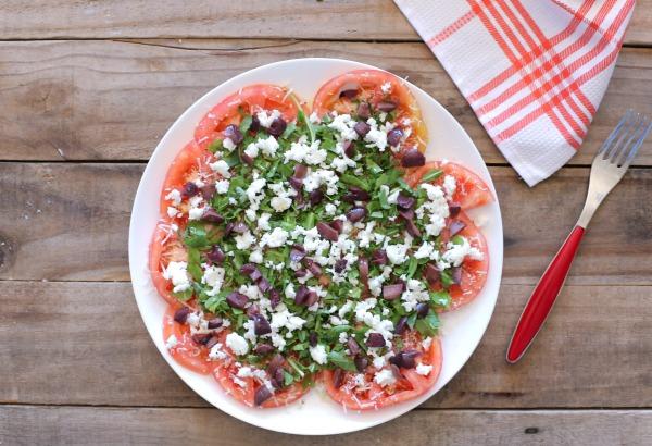קרפציו עגבניות_מנה ראשונה בסטייל_אירוח בסטייל_צילום ומתכון טליה הדר אשת סטייל