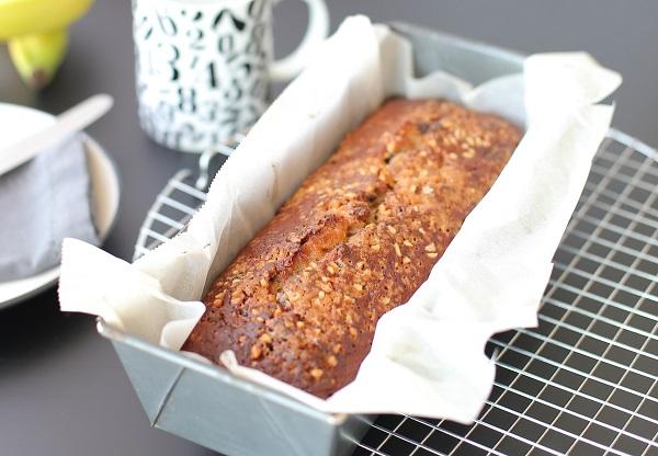 עוגת בננה שוקולד ציפס עם קמח כוסמין_מתכון וצילום: טליה הדר אשת סטייל