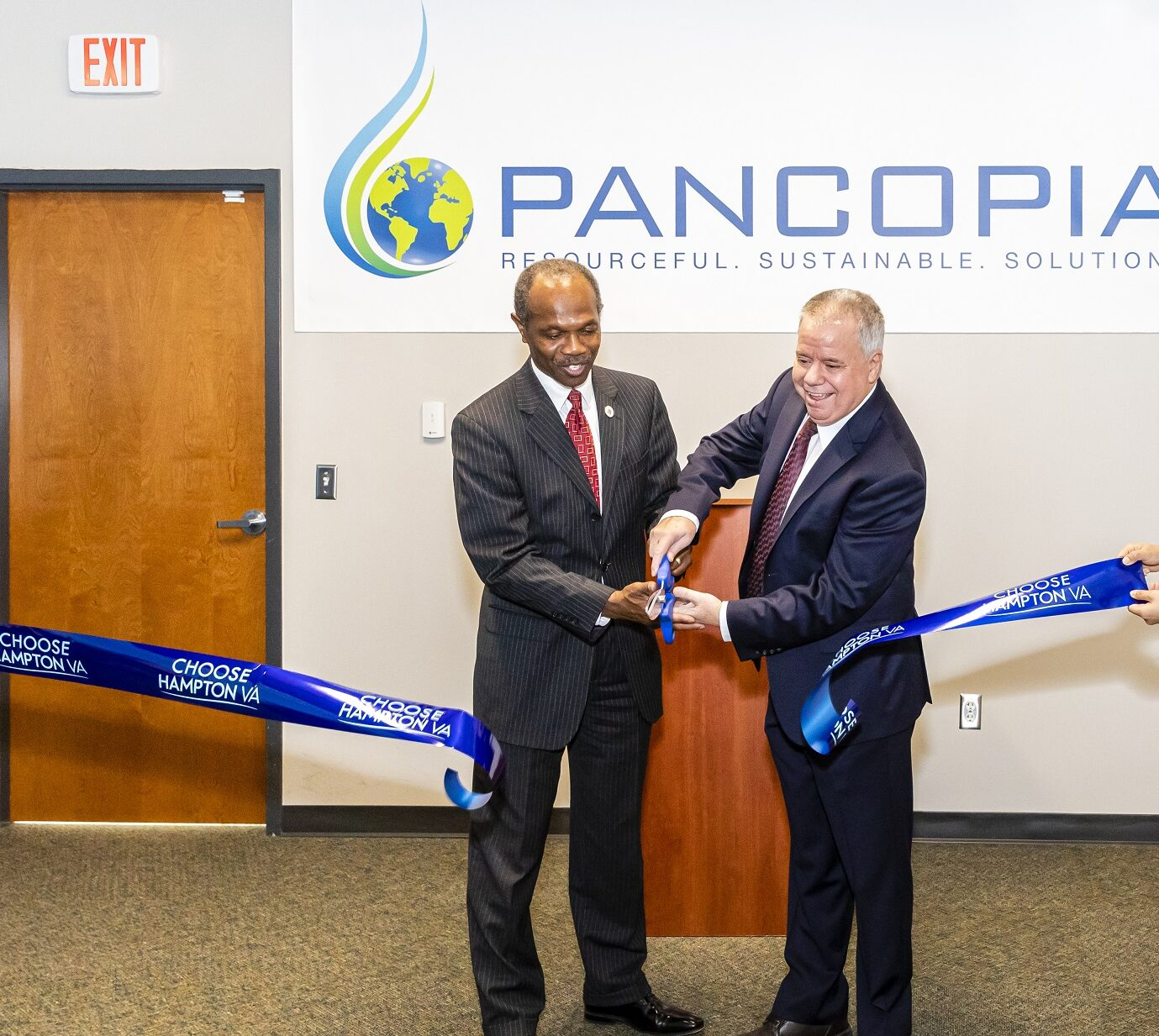 Ribbon-Cutting for New Pancopia Facilities
