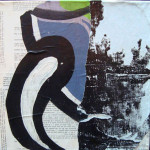 Claw Me 40cm x 40cm mixed media on canvas