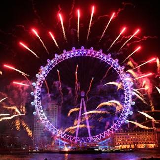 Millenium Eye Fireworks