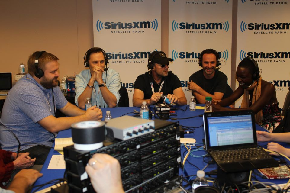the walking dead at comic con radio