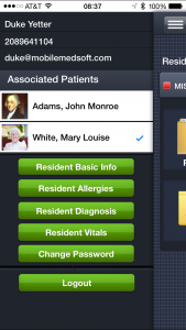 MedTablet Patient Portal - Patients